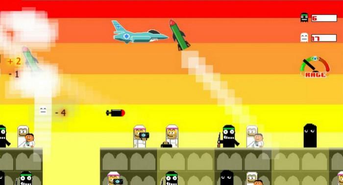 Игра-приложение Bomb Gaza