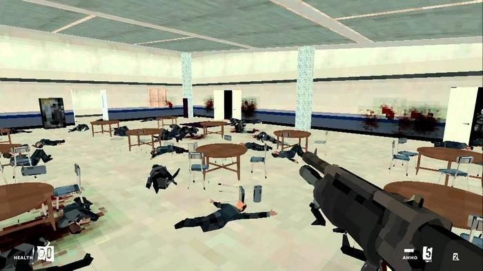 School Shooter: North American Tour 2012 - симулятор массовых убийств в школе Колумбайн