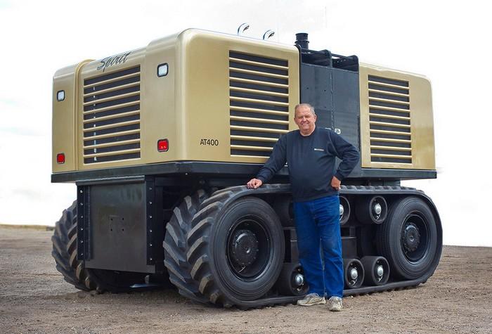 Автономный трактор от Autonomous Tractor Company