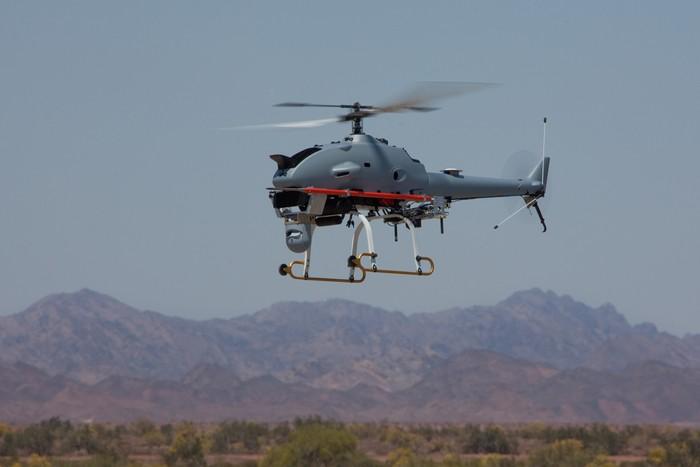 Беспилотный вертолет Rotary-Bat от компании Northrop Grumman