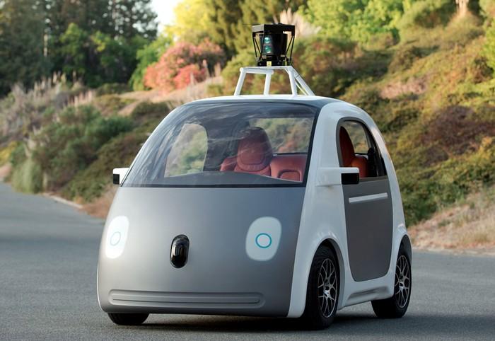 Автомобиль с автопилотом от корпорации Google