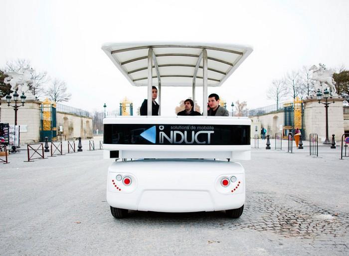 Induct - беспилотное такси в Сингапуре