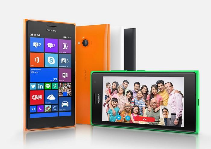 Смартфон для селфи Microsoft Lumia 730