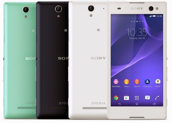 Смартфон для селфи Sony Xperia C3