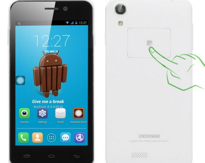 Смартфон для селфи Doogee Valencia DG800