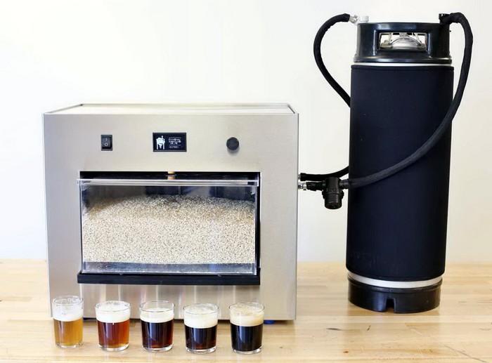 Домашняя пивоварня PicoBrew Zymantic под управлением смартфона