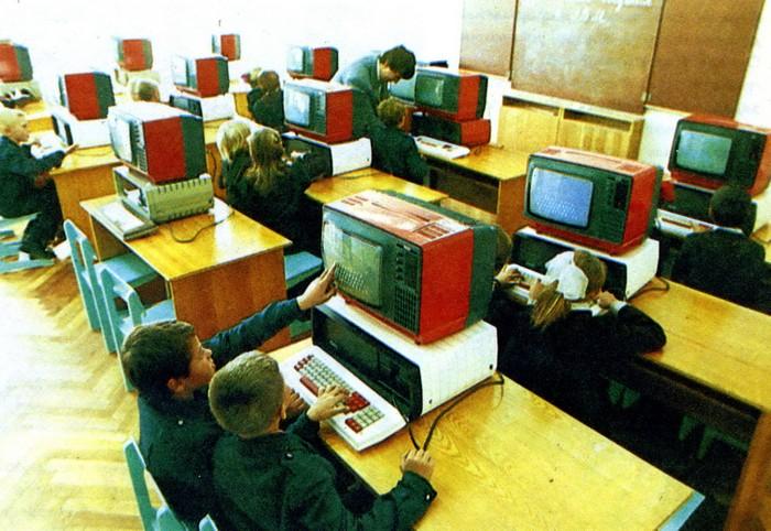 Компьютеры в советской школе