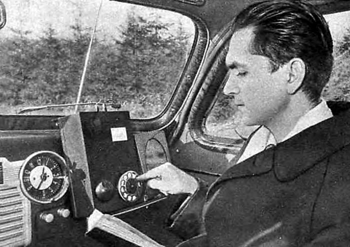 Советский мобильный телефон ЛК-1