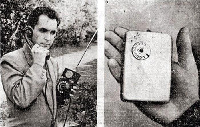 Советский мобильный телефон ЛК-3