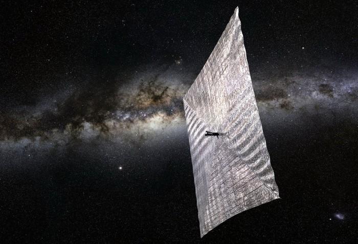 Солнечный парус LightSail-1