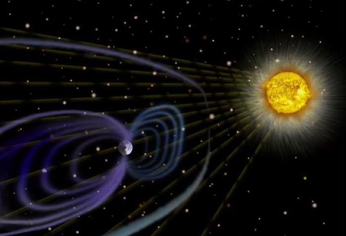Распространение света в Солнечной системе