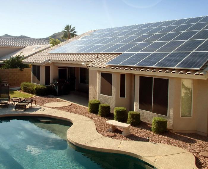 Домашние солнечные панели от SolarCity