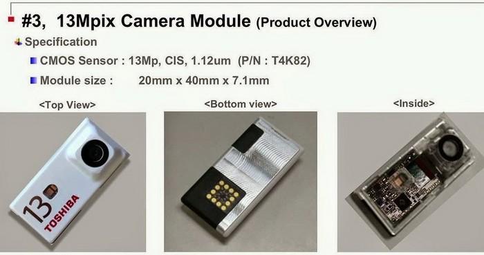 Toshiba представила съемные камеры для модульного смартфона Project Ara от Google