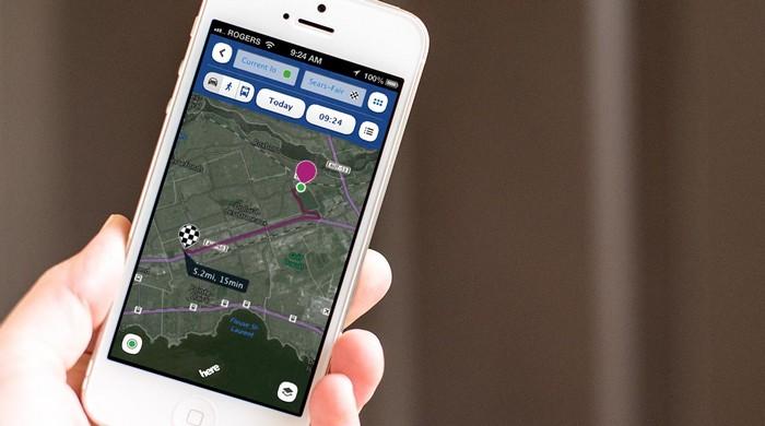 Картографическое приложение HERE для Android