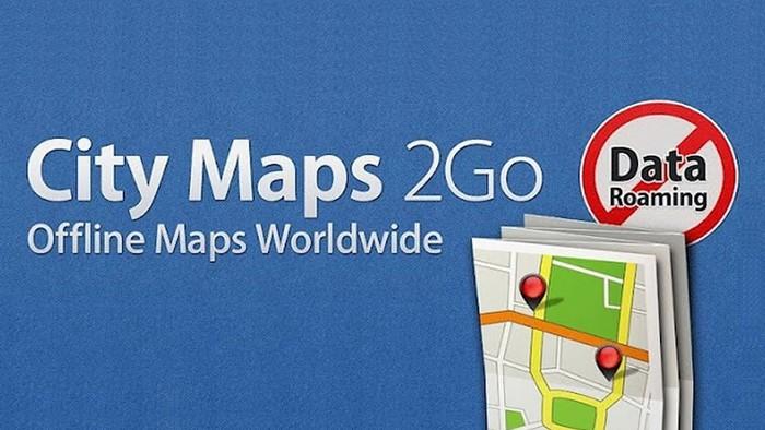 Картографическое приложение City Maps 2Go для iOS