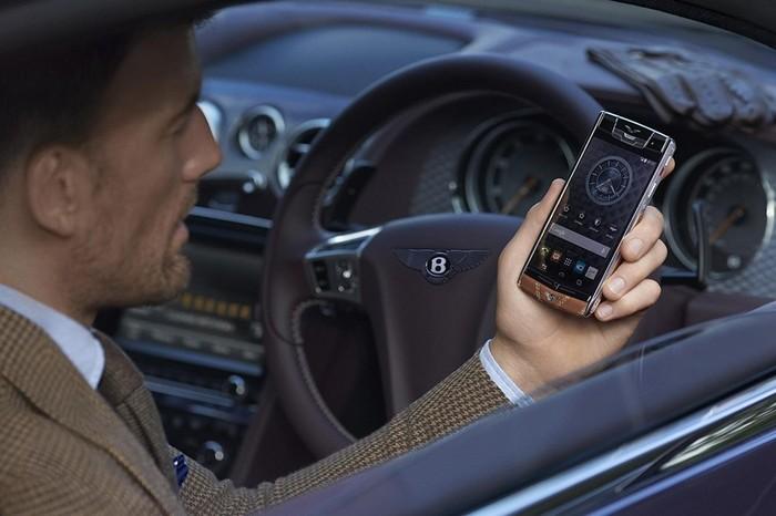Bentley for Vertu – смартфон для избранных владельцев автомобилей Bentley