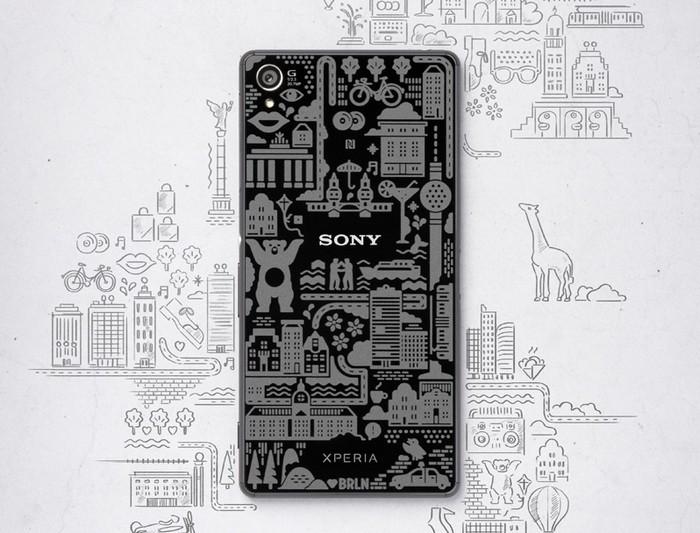 Ограниченная партия смартфона Sony Xperia Z3 для знаменитостей из Берлина