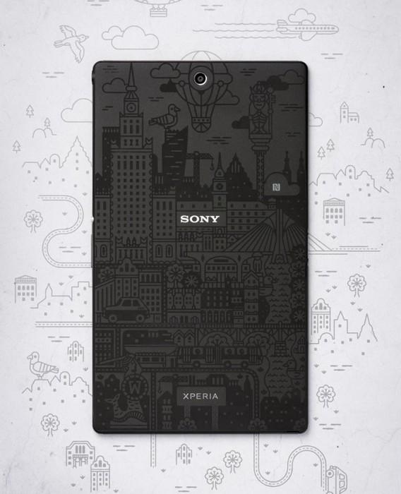 Ограниченная партия планшета Sony Xperia Z3 Tablet для знаменитостей из Токио