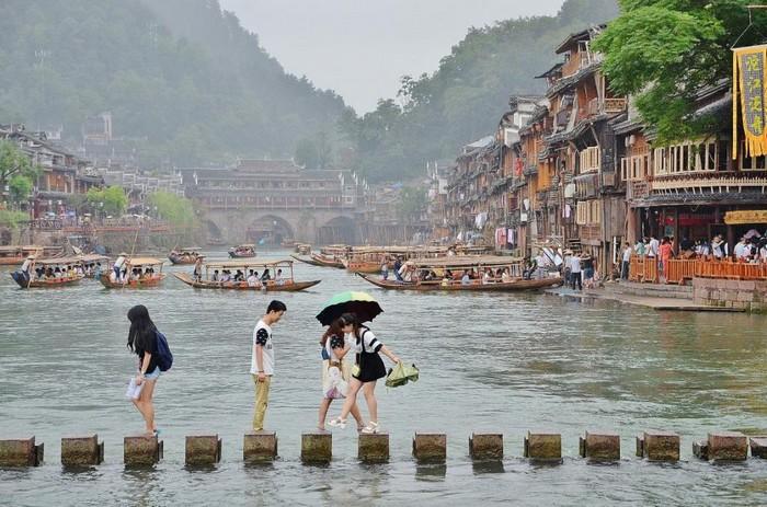 Город Фунфуа в Китае