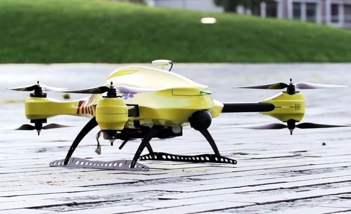 Ambulance Drone - беспилотный летательный аппарат для скорой медицинской помощи