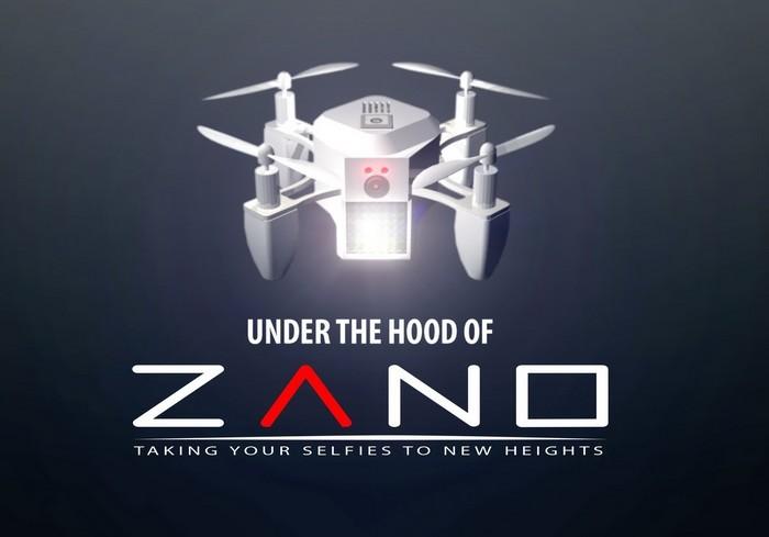 Zano - миниатюрный беспилотник для селфи
