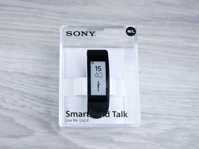 Стеклянная коробка для «умных» часов Sony SmartBand Talk SWR30