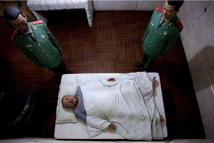 Китайский художник Ай Вэйвэй в тюрьме