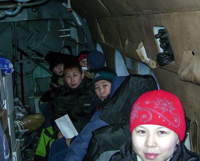 Оленеводы отправляют детей в школу на вертолете. Автор фото: Александр Чебан