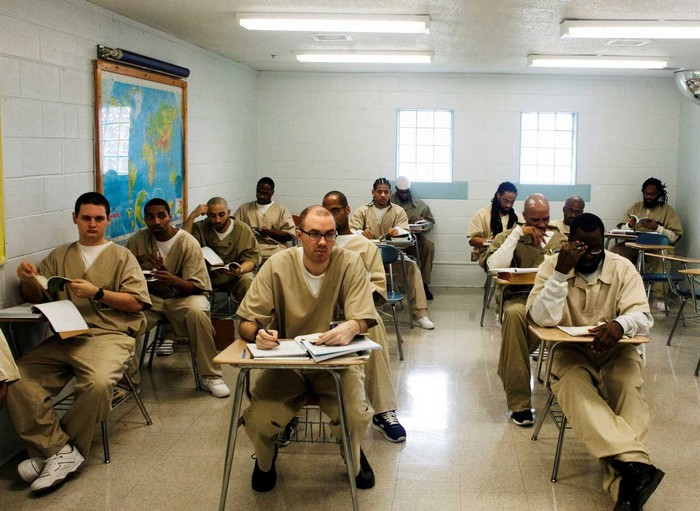 Школа для заключенных в Техасе