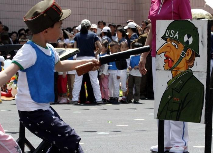 Особенности патриотического воспитания в школах КНДР