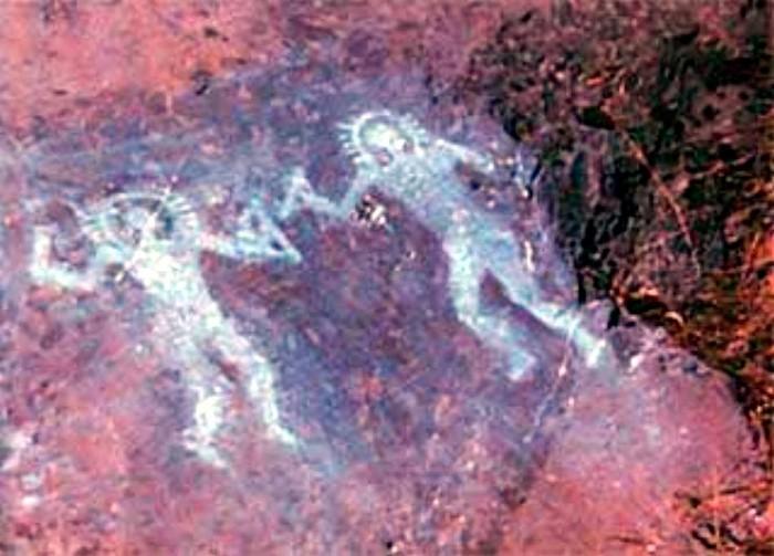 Древние люди в скафандрах - доказательство существования палеоконтакта