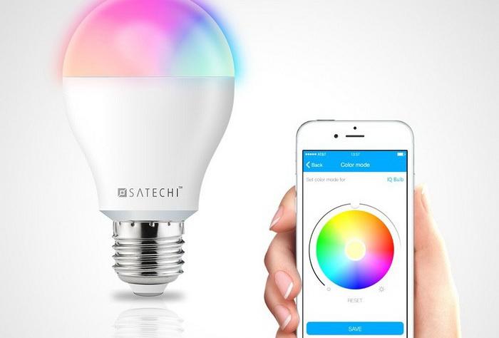 Самые необычные технологичные функции в домашних лампочках