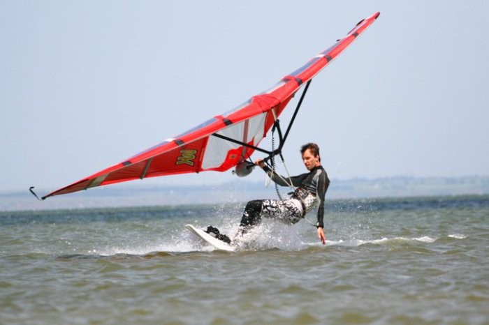 Кайтвинг - новый инвентарь для экстремальных видов спорта
