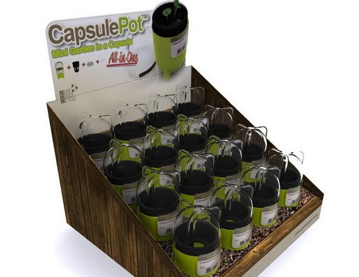 Квартирный огород CapsulePot