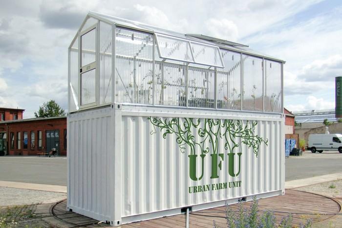 Urban Farm Unit – городской магазин, совмещенный с фермой