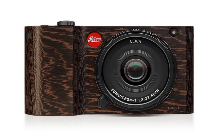 Деревянная версия легендарного фотоаппарата Leica T