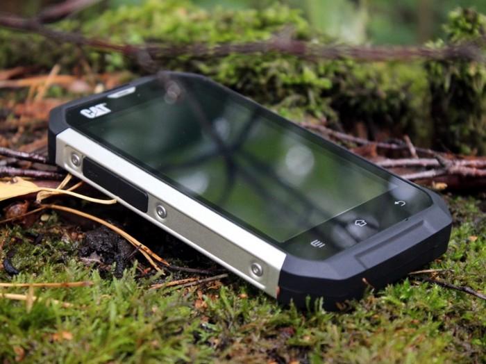 Защищенный смартфон для экстремалов Caterpillar Cat S50