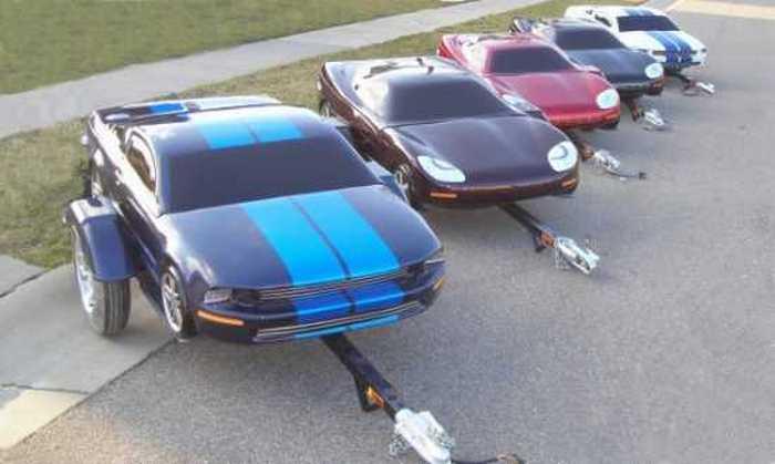 Трейлер-Corvette.