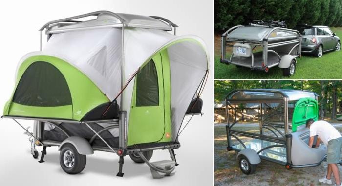 Трейлер-палатка Sylvan Sport GO trailer.