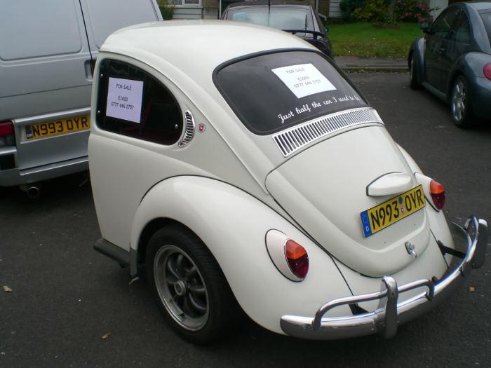 Трейлер а-ля Volkswagen Beettle.