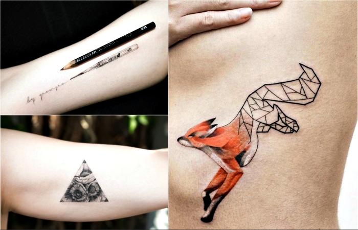 Потрясающие минималистичные татуировки с глубоким смыслом.