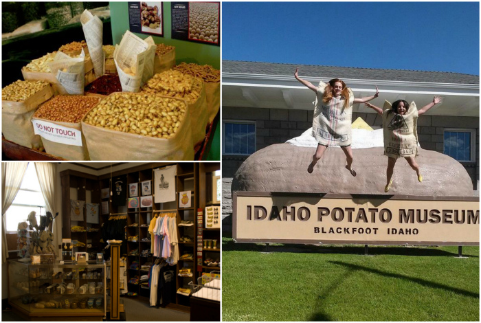 Музей картошки в Айдахо.