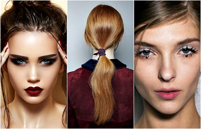Модные идеи макияжа и причесок для осени 2016.