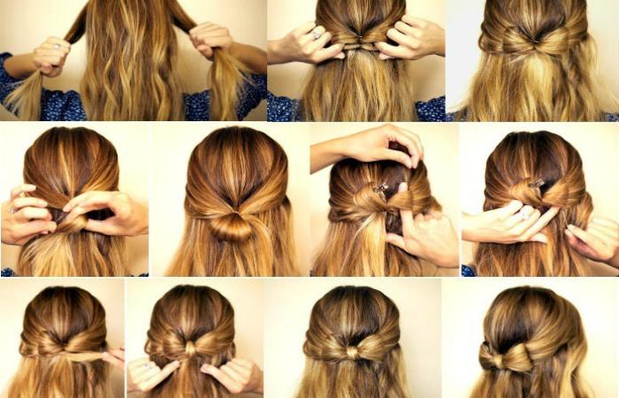 Как можно волосы сделать