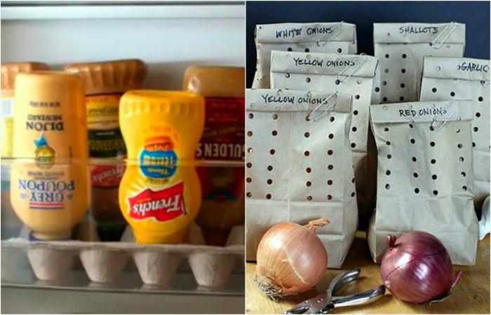 Маленькие секреты хранения продуктов.