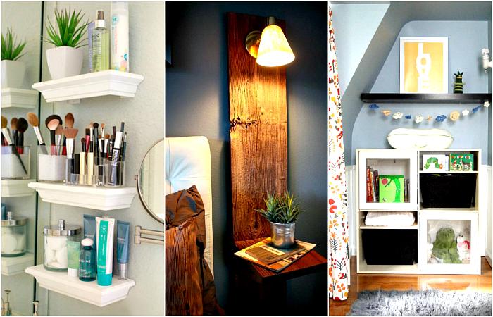 Гениальные идеи обустройства небольшой квартиры.