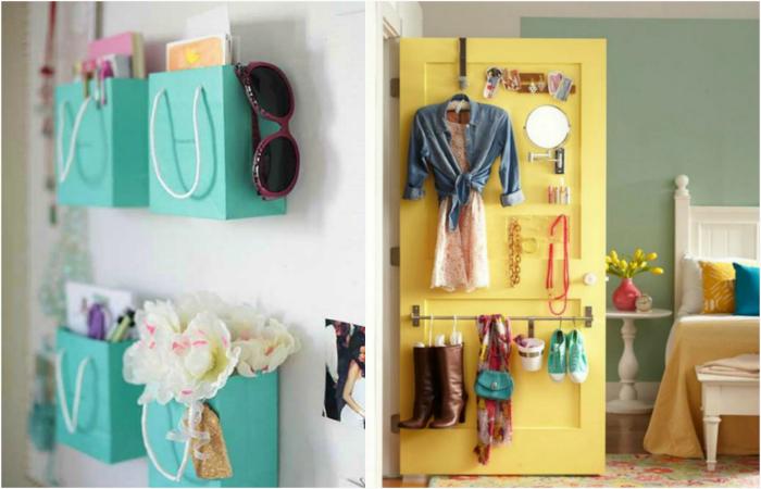 Идеи организации пространства в маленькой спальне.