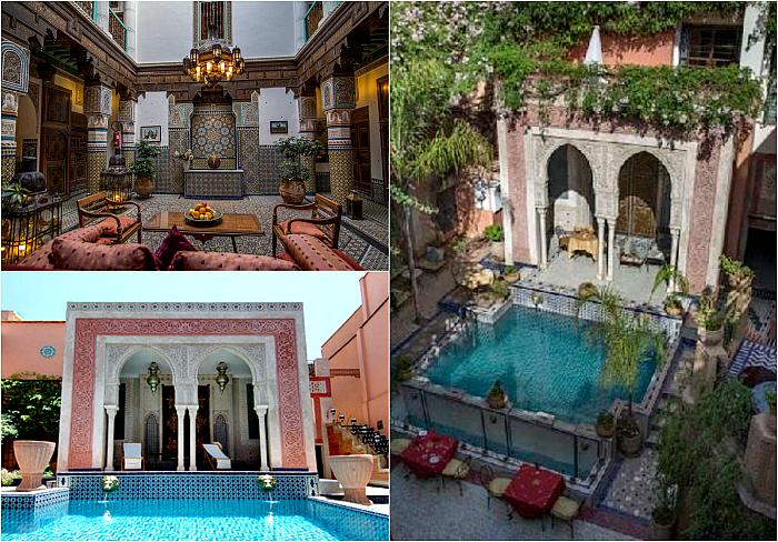 Марокканский дворец-отель.