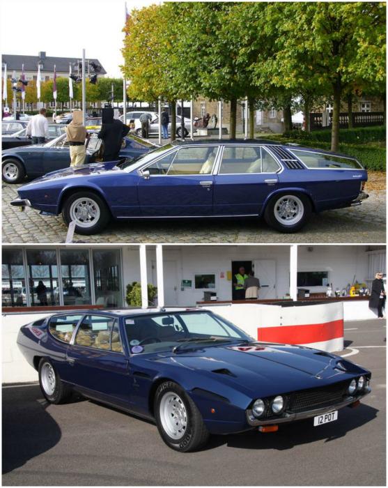 Автомобиль, разработанный в ателье Petro Frua, на удлинённом шасси Espada 1970-х годов. Данный экземпляр имеет длину 4,58 метра и весит на 200 кг больше обычной Espada.