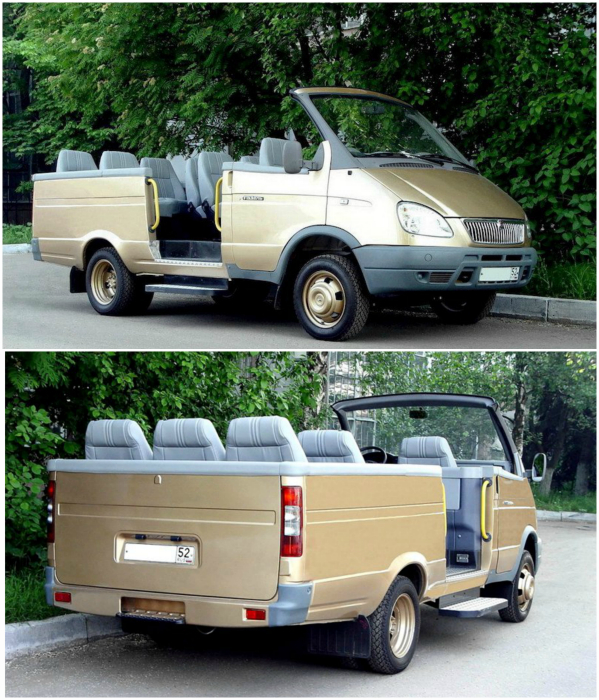 """9-местный экскурсионно-церемониальный микроавтобус, предназначенный для обслуживания делегаций был представлен на автомобильной выставке """"Мотор Шоу"""